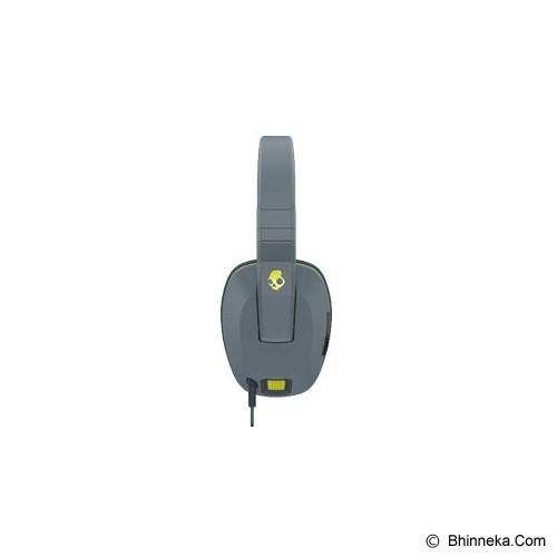 SKULLCANDY Crusher Over-Ear w/mic 1 [S6SCGY-134] - Gray/ Hotlime - Headphone Full Size